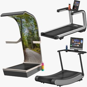 Treadmill Collection 3D model