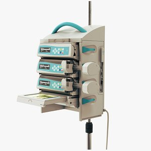 3D medical infusion pump