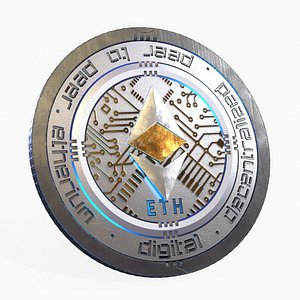 Ethereum Cryptocurrency Coin model