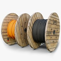 Cable Reel GameReady LODs