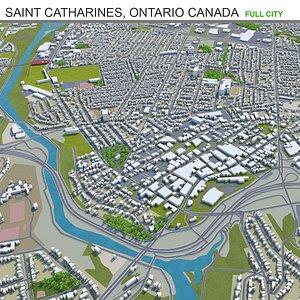 Saint Catharines Ontario Canada 3D model