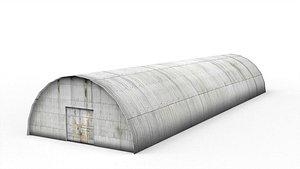 3D Metal hangar