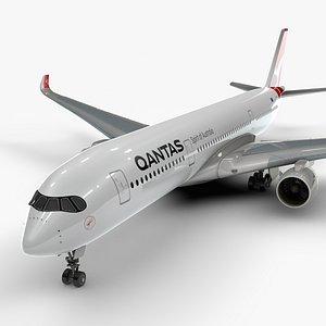 a350-900 qantas airways l1094 3D model