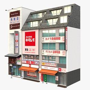 Tokyo Japanese Commercial Building 3D model