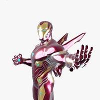 Iron Man Infinity War Rigged Model