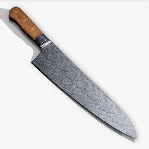 knife kitchen realtime 3D model