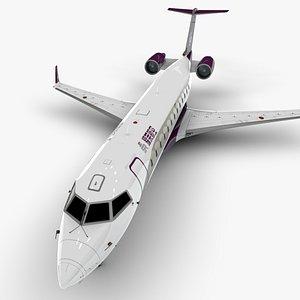 3D roll jet sr bombardier crj