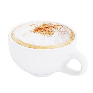 3D cappuccino cup