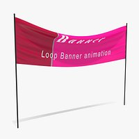 Animated Hanging  Banner 2