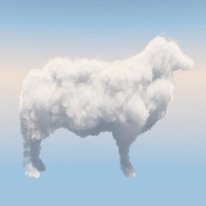 3D Cloud Sheep