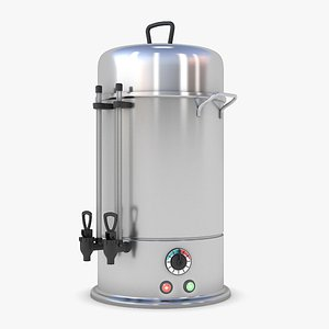 3D Tea Machine Maker model
