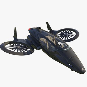 Hover vehicle model