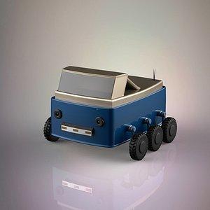 delivery robot 3D model