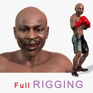 boxer legend 3D model