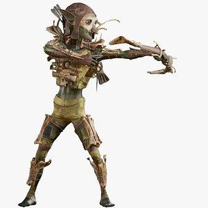 3D Goblin archer