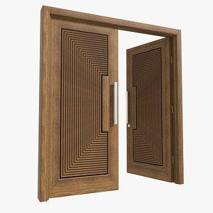 door entrance 3D model