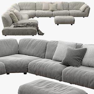 3D edra sofa grande