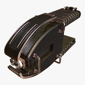 Thrust Amplifier D 3D model