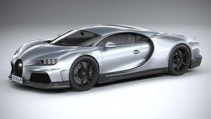Bugatti Chiron Super Sport 2022 3D model