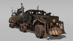 3D truck vehicle