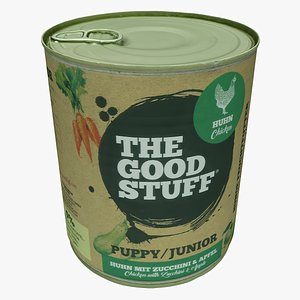 3D Packaging 28 Canned Food