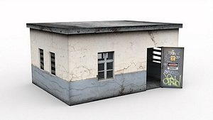 Old booth 3D