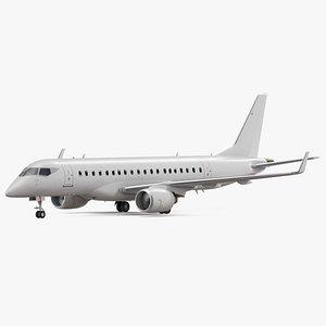 Jet Airliner 3D model