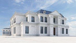 classis english villa 3D model