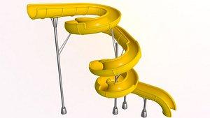3D Body Water Slide model