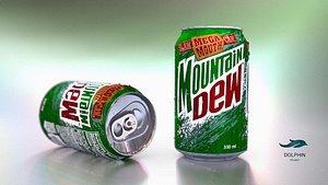 3D Dew can model