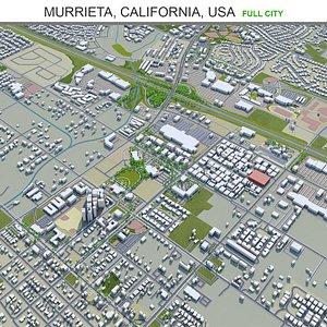 3D Murrieta California USA model
