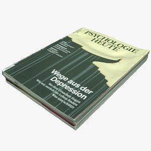 Magazines 04 3D model