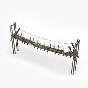3D The old drawbridge