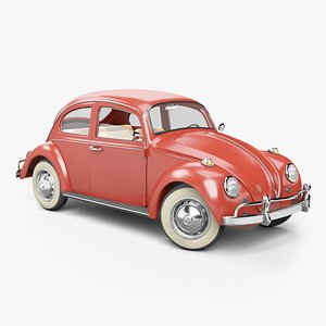 3D model 1966 volkswagen beetle