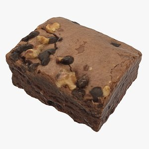 3D brownie ready model