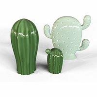 Ceramic Cactus - Interior Home Accessories