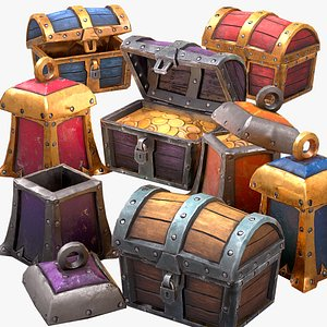 Chest Pack Stylized model