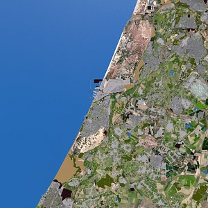 3D Ashdod City Of Israel
