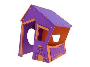 3D model casita tienda agapito