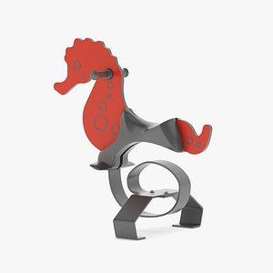 3D Lappset Seahorse