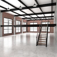Industrial loft and office space 6