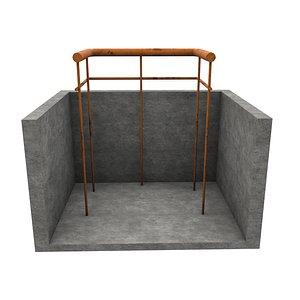 Railing 1 3D model
