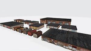 3D Garage pack