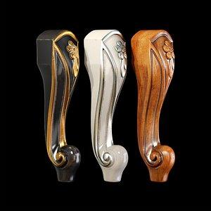 3D Classic leg 022 model