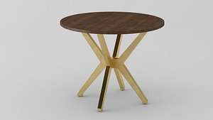 MASLOW SPIDER ROUND ENTRY TABLE 3D model