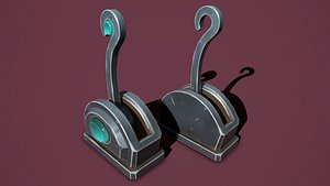 3D Fantasy lever model