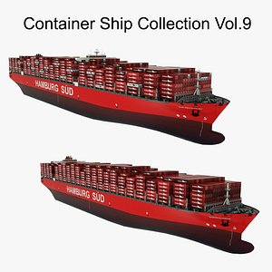 Container Ship Collection Vol.9 3D model