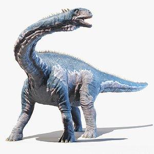 Isanosaurus Animated 3D model