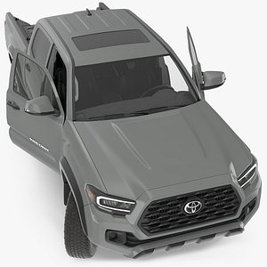 3D toyota tacoma trd road