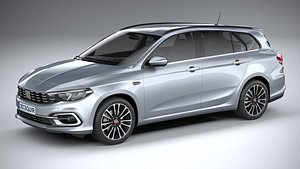 Fiat Tipo Station Wagon 2021 3D